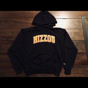 Vintage mizzou hoodie university of Missouri